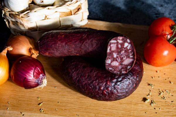 Zappendorfer Rotwurst nach Hausschlachter Art