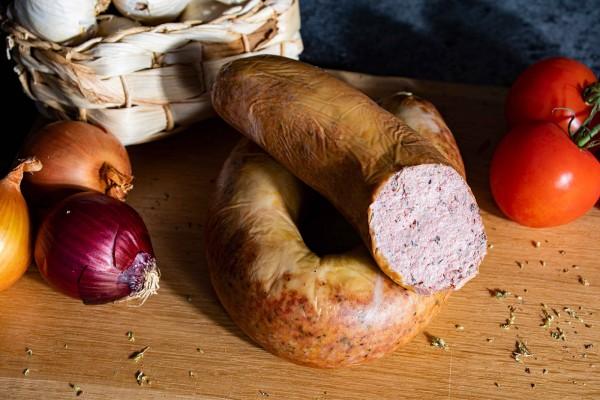 Zappendorfer Leberwurst nach Hausschlachter Art
